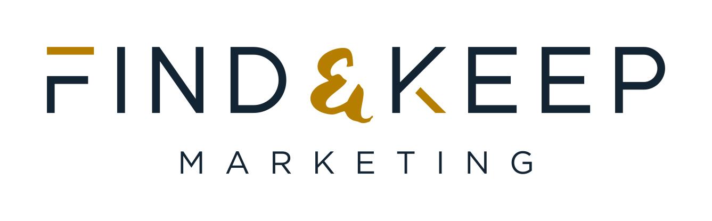 Find & keep marketing logo
